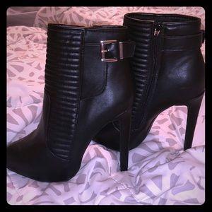 Express stiletto boots 6.5